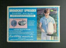 Earthway EV-N-Spred Model 2700-A, broadcast spreader Made in USA - new Vintage