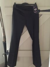 Karen Millen Black Trousers Size 12
