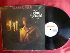 Wally Tax - Tax Tonight ( Lp - Psych Blues Rock )