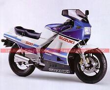 SUZUKI RG 500 Gamma 1985 ( RG 500 ) Fiche Moto 000068