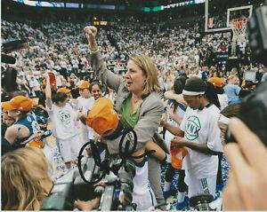 CHERYL REEVE Minnesota Lynx WNBA Basketball Coach SIGNED 8x10 Photo c