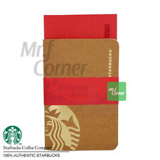 SA042 starbucks coffee chinese new year logo notpad notebook with envelopes
