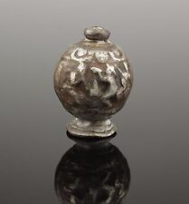 SUPERB POST MEDIEVAL SILVER PLATED EROTIC SWORD POMMEL