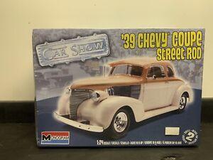 Monogram 1/24 '39 Chevy Coupe Street Rod Model  Kit 85-44241 (Sealed)