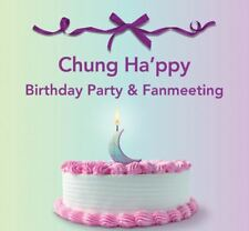 CHUNGHA Chung Happy Birthday Party & Fanmeeting OFFICIAL GOODS L-HOLDER SET NEW