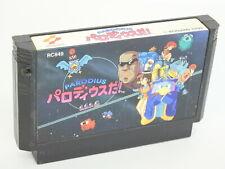 Famicom PARODIUS DA Cartridge Only NINTENDO fc