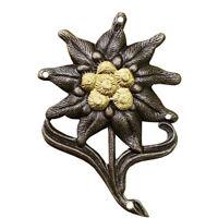 Genuine German army hat mountain troops Insignia Badge cap cockade edelweiss