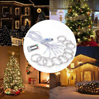 3 x 3M LED String Lights 300 LED Remote Control Outdoor Party Decor Fairy Lights