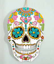 SUGAR SKULL sparkly Calavera DAY OF THE DEAD dia de los muertos  Colorful MEXICO