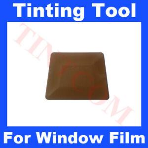 Hard Gold Squeegee Teflon Card Car Window Tinting Tool Fitting Tool