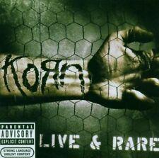 """KORN """"LIVE & RARE""""  CD NEUWARE!!!!!!!!!!!!!!!!!!!!!"""