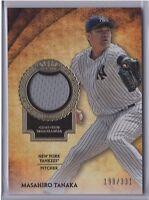 2017 Topps Tier One Masahiro Tanaka Yankees Relics /331