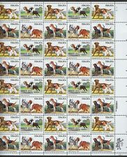 U.S.#2098a DOGS  MINT, VF, NH   FULL SHEET @ FACE VALUE!