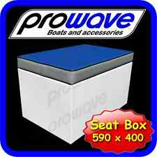 Boat Seat boxes 590L x 400W x 365H - Mid Blue