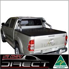 Tonneau Cover to suit Toyota Hilux Dual Cab (Apr2005-Aug2015) ClipOn