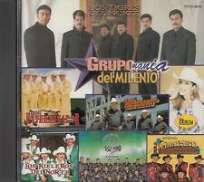 Los Tigres Del Norte Los Rieleros Banda El Recodo Grupo Mania Del Milenio CD New