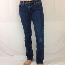 Ruehl 925 Jeans Womens 26 New York 10014 Barrow Blue Straight Stretch 28x28.75