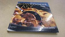 Sara Lewis, Slowcooker Easy: Over 70 Deliciously Simple Recipes, Like New, Hardc