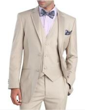 Custom Made Men Suits Beige Slim Fit Formal Suits For Wedding Mens Prom Suits