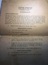Original WWII Pilot Manual R4D Aircraft Trouble Shooting  Squadron MAG-35 USMC