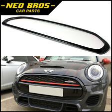 MINI F55 F56 F57 ONE, COOPER & JCW Gloss Nero Anteriore Griglia Surround