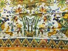 "Turkish Tapestry Hanging Prayer Rug Table Scarf Elephants Camel Spain 59x59"""