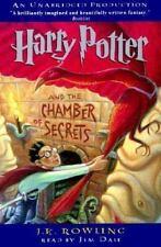 Harry Potter Chamber Secrets 2nd Novel Audiobook (6 Cassettes)  J K Rowling New