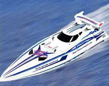"Racing Speed Boat X Cyclone Remote Control 380 Twin Power Racing Motors 36"" RTR"
