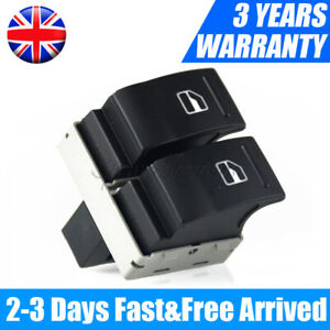 Electric Window Double Switch Driver Side Fit VW Transporter T5 T6 Caravelle UK*