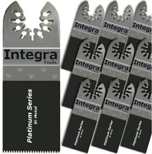"10 Bi-Metal ""Nail Eater"" Quick Release Oscillating Tool Blade- DeWalt Compatible"