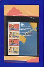 (PTA20)1975AUstamp pack50th anni Trans-pacific Flight(A