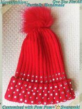 Unbranded Beanie Bling Hats for Women