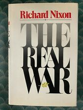 37th President Richard Nixon Hand Signed Autograph The Real War Book