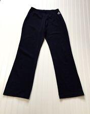 Adidas Women's Sz Al Adult Large Gymnastics Wear Pants Usa Made Dark Blue