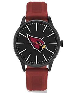 Rico Industries Inc Arizona Cardinals NFL Sports Dial Watch Premier Design Logo