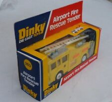 DINKY -  263 - AIRPORT FIRE RESCUE TENDER - MINT & BOXED - 1978 - 1981 VINTAGE