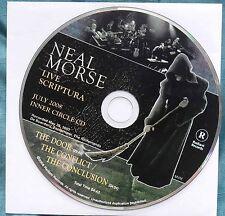 Neal Morse – Live Scriptura, Inner Circle CD July 2008 – Spock's Beard – Mint