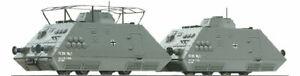 Liliput 136501 H0 Panzerspähzug -PIONIER/Geschützwagen- Set 2 Ep. II