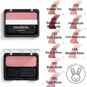 CoverGirl Cheekers Blush & Bronzer in 4 shade options - 102, 130, 140, and 150