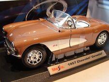 1957 Chevrolet Corvette Model Car 1:18 Scale
