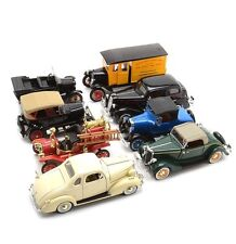 Collection of 8 Die-Cast Cars By The National Museum Mint
