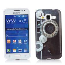Custodie preformate/Copertine bianco Per Samsung Galaxy Core Prime per cellulari e palmari
