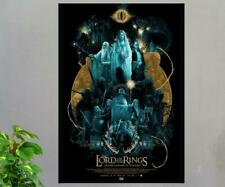 Lord of the Rings The Fellowship of the Rings 2001 Movie Poster Gift Art Print
