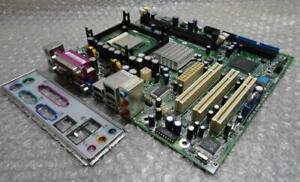 Original eMachines Imperial _ GV 20030812 Sockel 478 Motherboard Mit Rückplatte