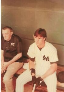 DON MATTINGLY & PETE SHEEHY ONE-OF-A-KIND PHOTO I TOOK DURING SPRING TRAINING