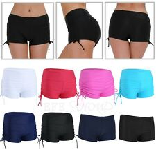 Women Swim Shorts Bikini Bottom Mini Boardshorts Swimwear Beach Pants Boyshorts