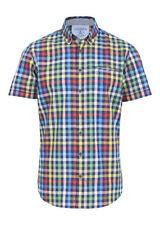 Kurzarm Herren-Freizeithemden & -Shirts aus Baumwolle mit Button-Down-Kragen