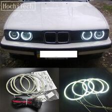 4pcs white LED SMD Angel Eye Halo Rings light for BMW E30 E32 E34 1984-1990
