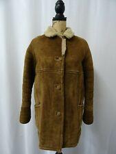 Women's Brown Sheepskin Coat Size 10