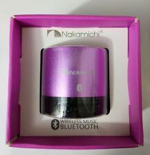 Nakamichi BT05S Series Bluetooth Round Speaker - Retail Packaging - Purple